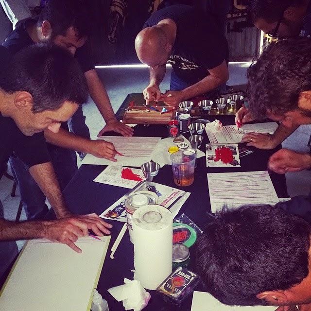 "PARTICIPAMOS EN EL ""FIRST SIGNS AND PINSTRIPING PAINTERS MEETING"" EN MADRID."