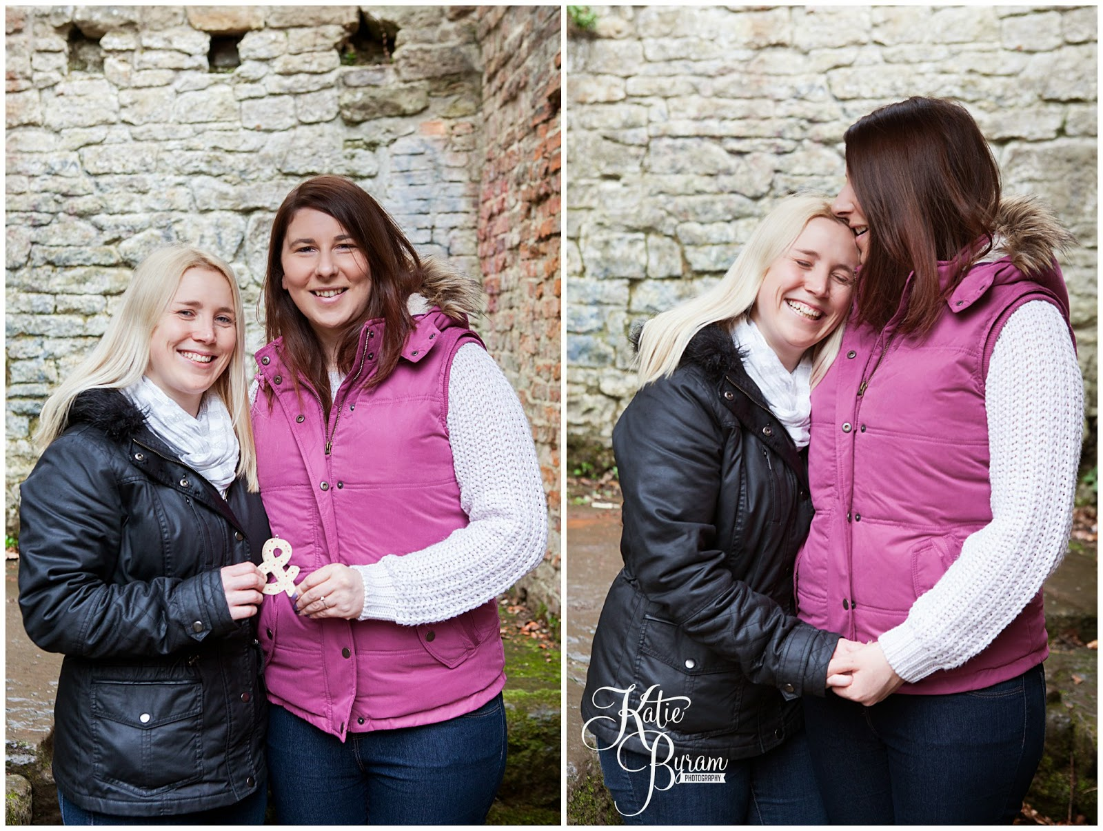 gay wedding, same-sex wedding, lesbian wedding, jesmond dene, newcastle wedding photographer, bride and bride, civil partnership, equal marriage, engagement shoot, same-sex couples photos, same-sex engagement, lesbian engagement, katie byram photography