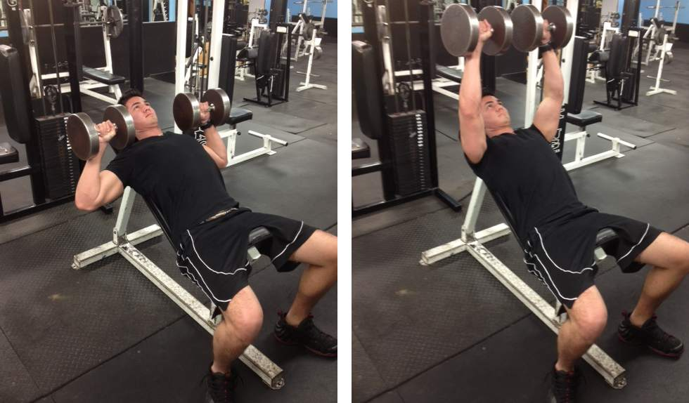 How To Do A Dumbbell Bench Press | Home Decorating, Interior ...