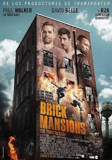 Brick Mansions (La Fortaleza) Poster