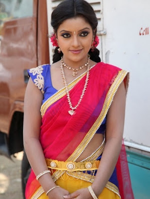 spicy padmini half saree pics