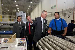 GotPrint and printing equipment at Grapevine, Texas printing facility
