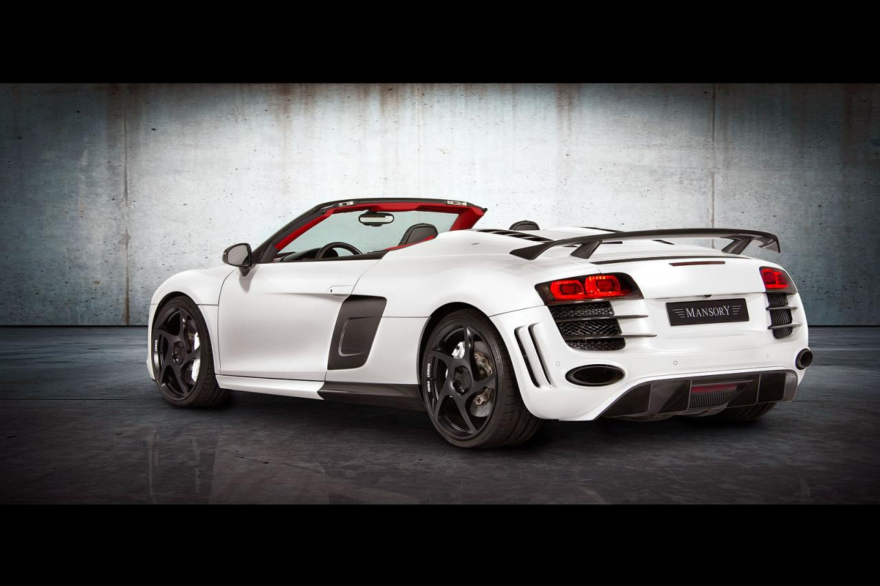 audi r8 spyder by mansory car tuning styling. Black Bedroom Furniture Sets. Home Design Ideas