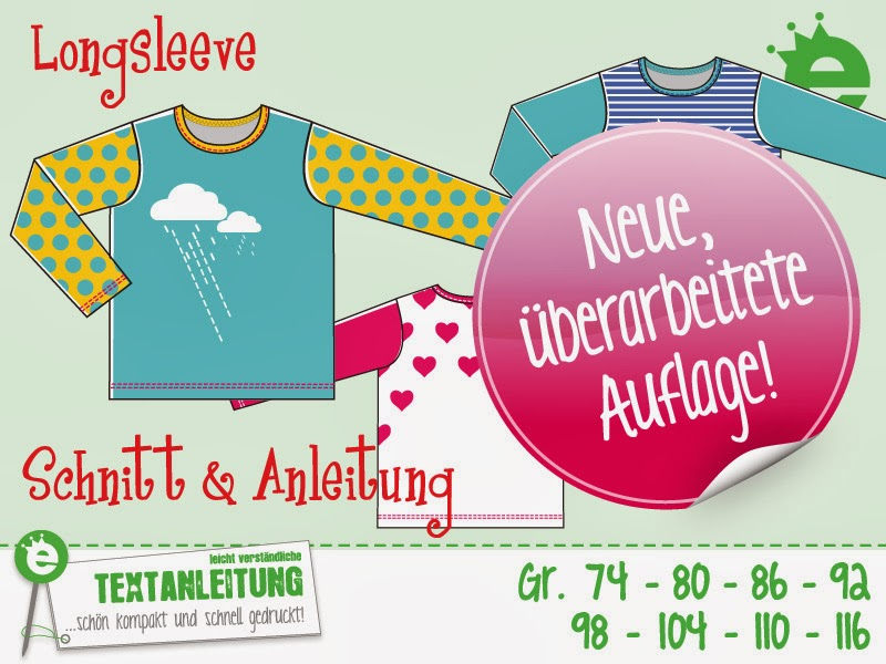 Shirt-Schnittmuster Longsleeve (MAXI): Neuauflage ...