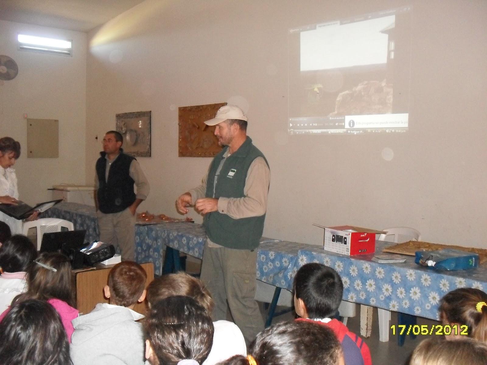 Escuela 3 tranqueras charla con grupo forestal del norte for Grupo el norte