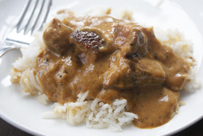 Curried%2BBeef Quick Peanut Butter Beef Curry