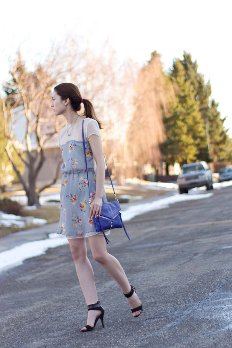 spring fashion, winter to spring fashion, sundress, summer dress, sheer dress