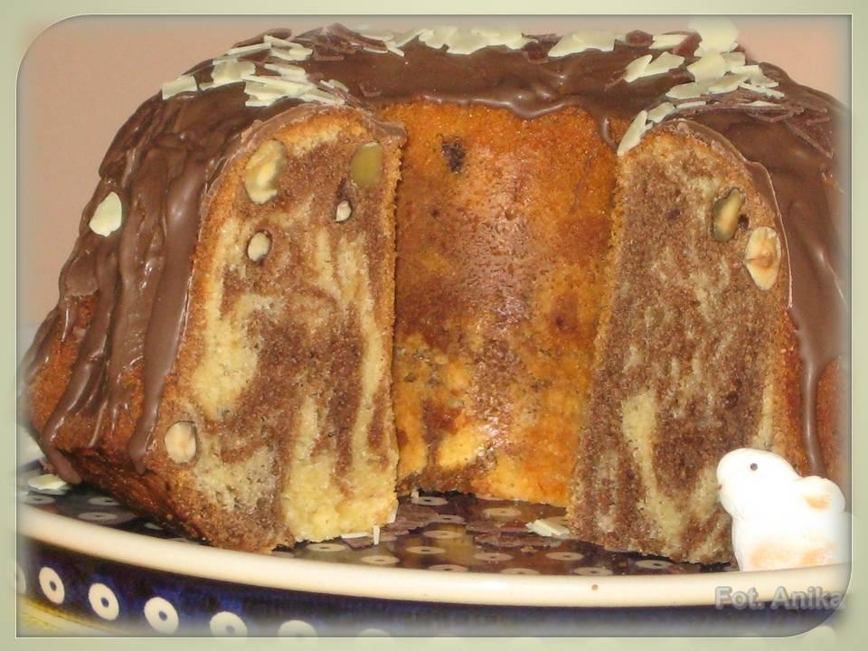 Domowa kuchnia Aniki Babka marmurkowa kawowo karmelowa -> Kuchnia Szeroko Otwarta Babka Marmurkowa