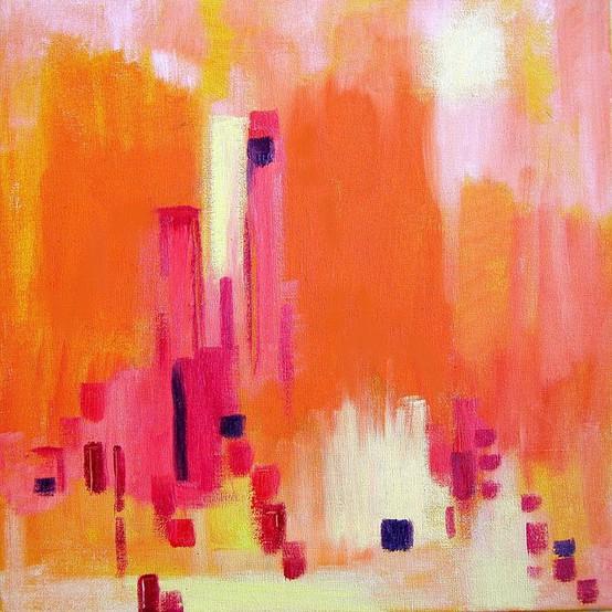 Ocean Images On Pinterest Ocean Paintings Pink Sunset