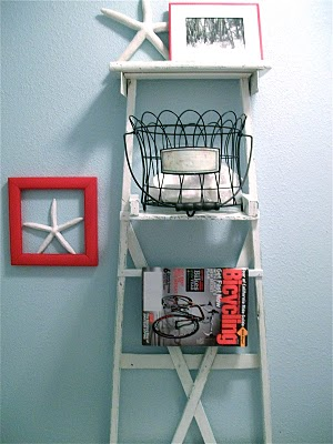 Decorating With Ladders 25 Creative Ways The Cottage Market