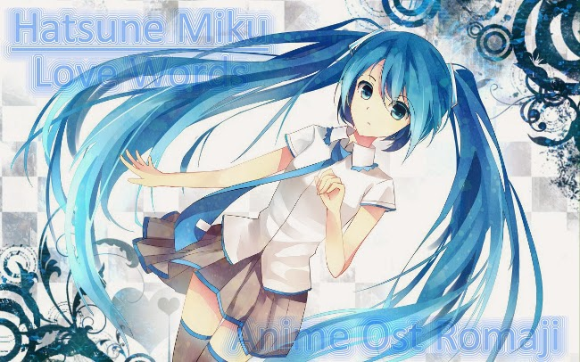 love words hatsune miku