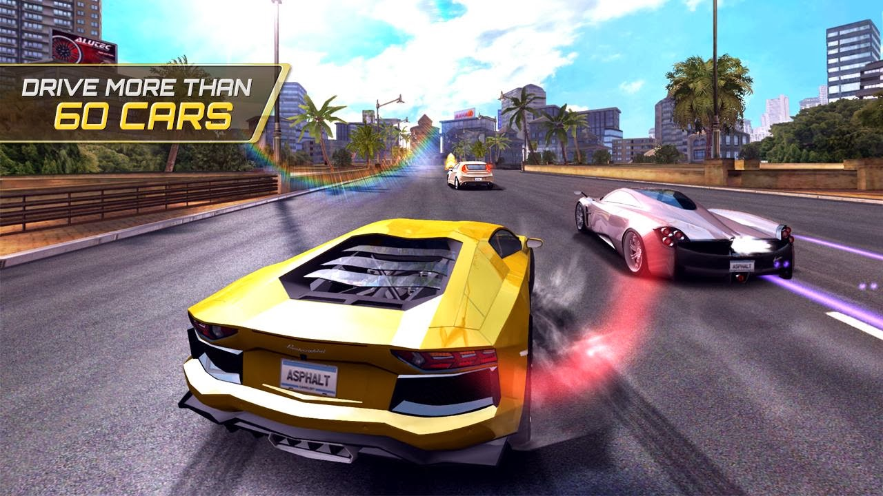 CHALLENGE THE WORLD Asphalt 7: Heat Android