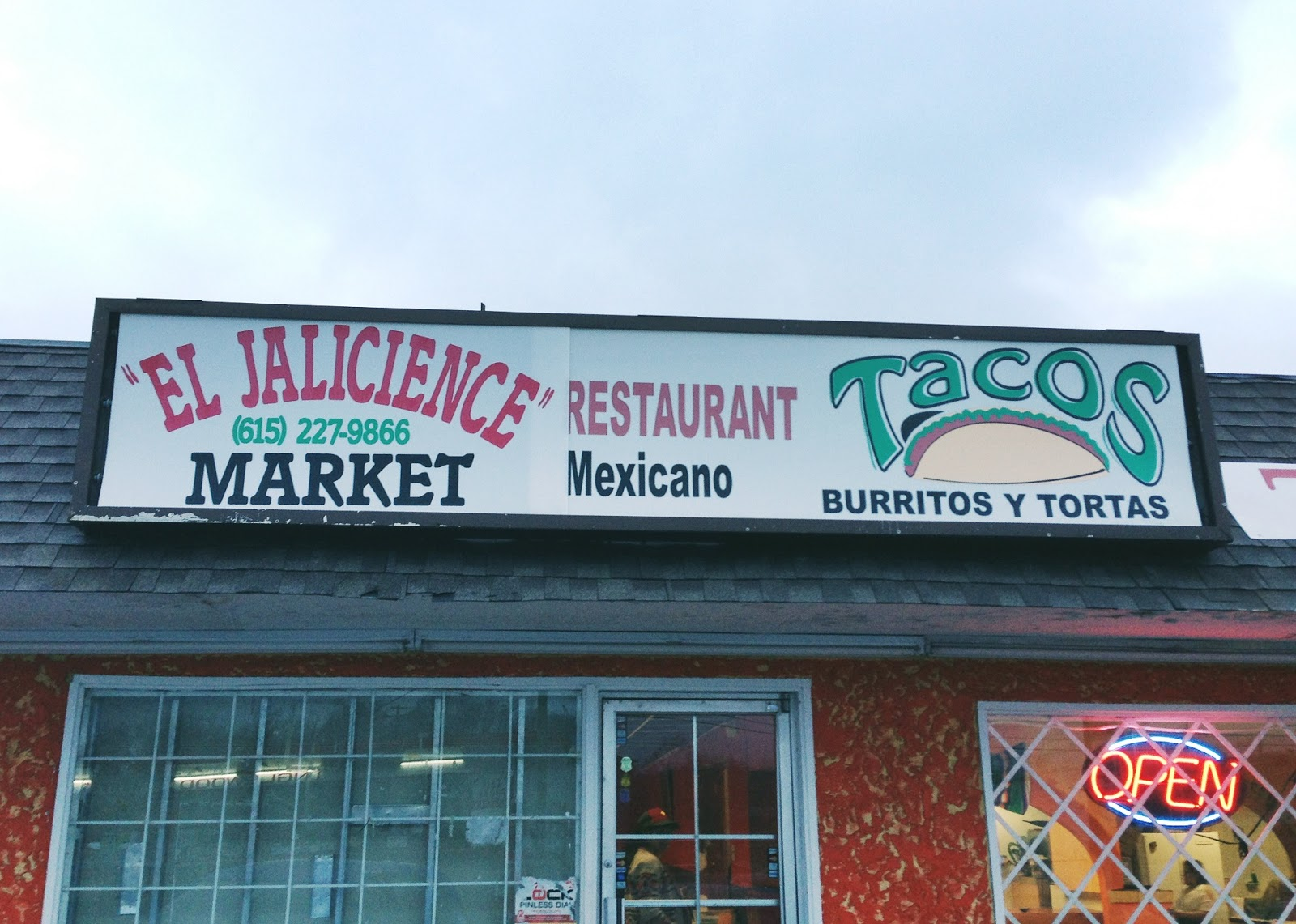 El Jaicience Mexican restaurant in Nashville Tennessee