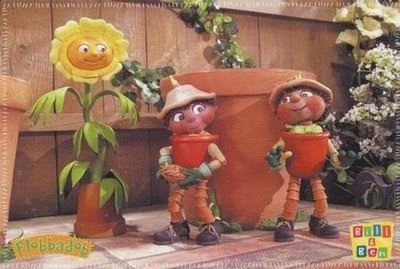 Hoe keerg Flower Pot Men hun bandnaam - BBC series - Bill and Ben the Flowerpot Men