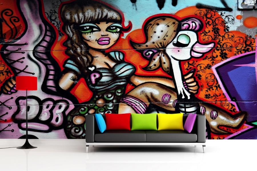 graffiti wall murals amazing nails brick wall graffiti mural xl03d sasi wallpaper