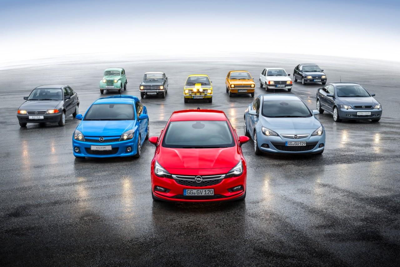 Ενδέκατη γενιά Opel Astra: Η επιτυχημένη ιστορία των συμπαγών μοντέλων της Opel από το 1936