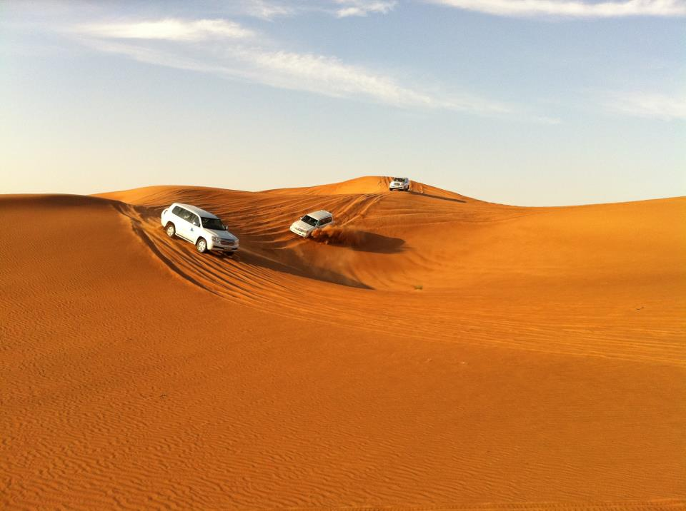 Playing Tourist: Desert Safari.