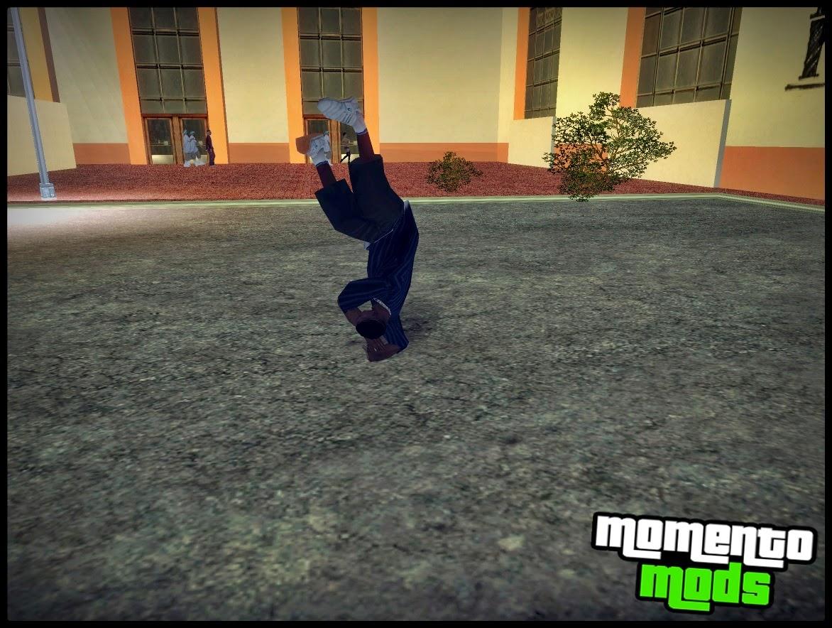 GTA SA - Mod De Dançar