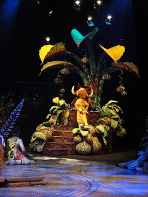 Simon and Pumba Lion King Show Hong Kong Disneyland