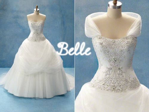 Occasions to blog creating your disney fairytale wedding for Belle style wedding dress
