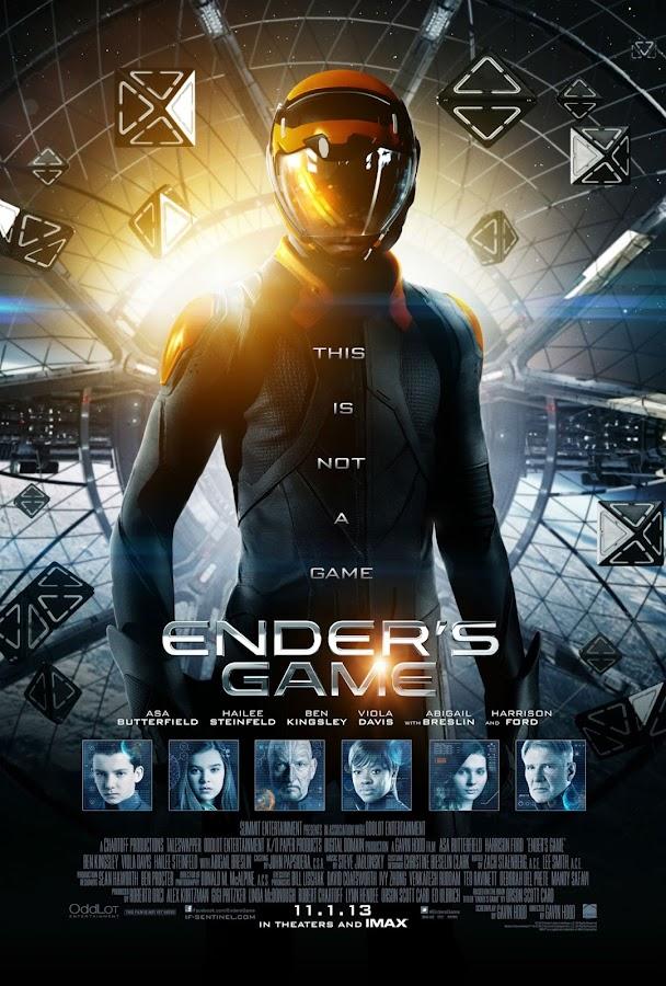ตัวอย่างหนังใหม่ : Ender 's Game (สงครามพลิกจักรวาล) ตัวอย่างที่ 2 ซับไทย poster