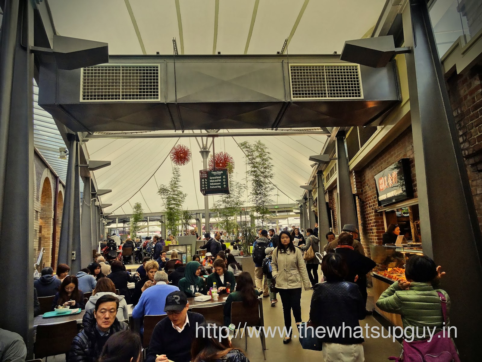 Eat At Queen Victoria Market
