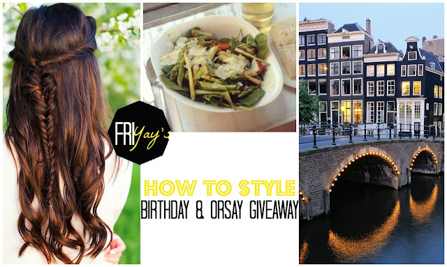 Friyay Boho Fishtail Braid Amsterdam Vapiano Spargel Special How to Style Giveaway