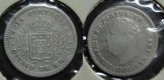 ludovicus oitavo rupia 1881