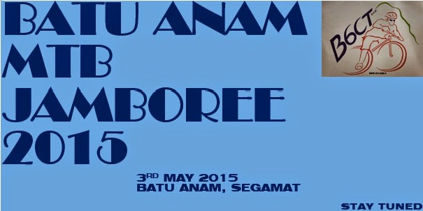 Batu Anam MTB Jamboree 3rd May 2015