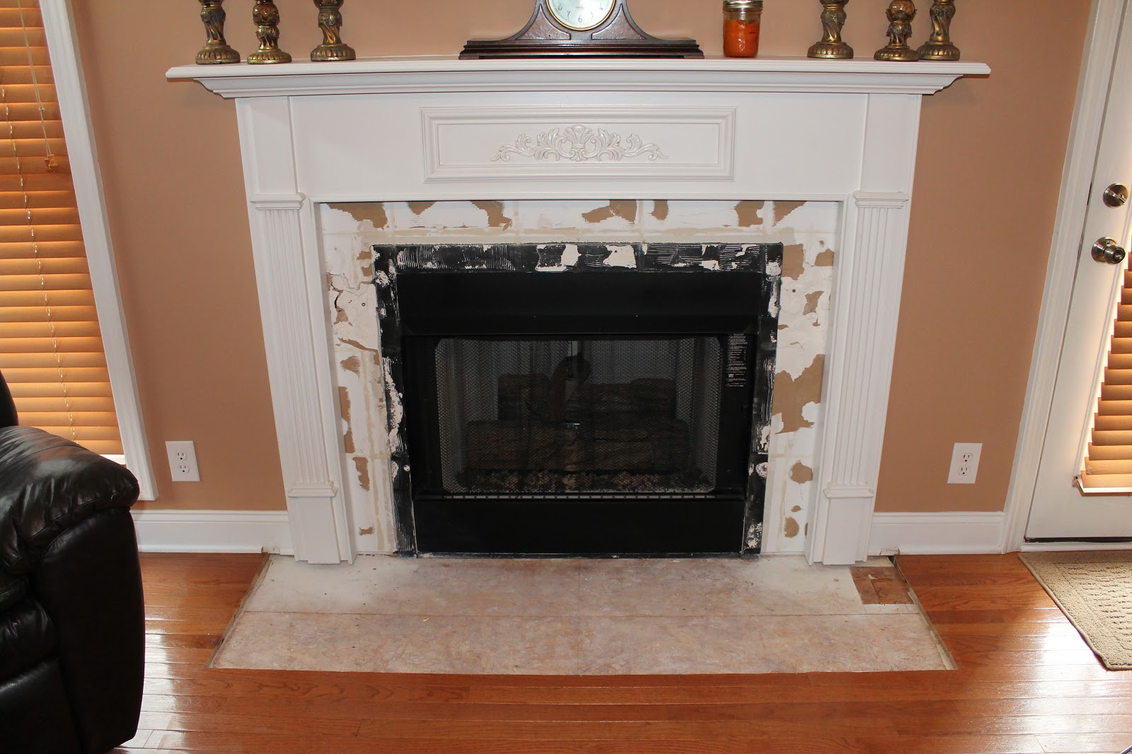 ferrellgraph x fireplace makeover