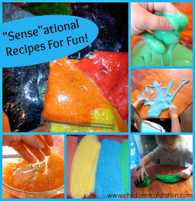 "photo of: ""Sense""ational  Recipes for Fun! at PreK+K Sharing via Amy Ahola"
