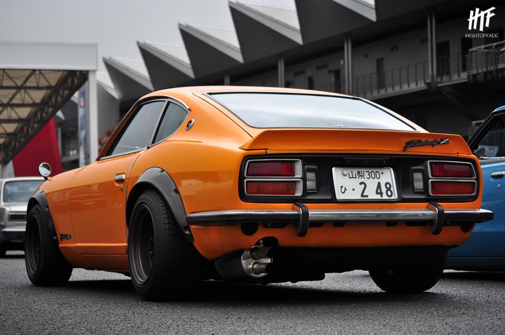 Nissan Fairlady Z S30, Datsun, 240Z, 260Z, 280Z, stary japoński sportowy samochód, kultowy, klasyk, oldschool, piękny design, zdjęcia, 日本車, スポーツカー, クラシックカー, 日産