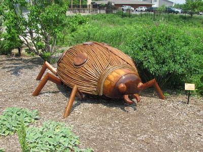 Giant Lady Bug Art Reiman Gardens
