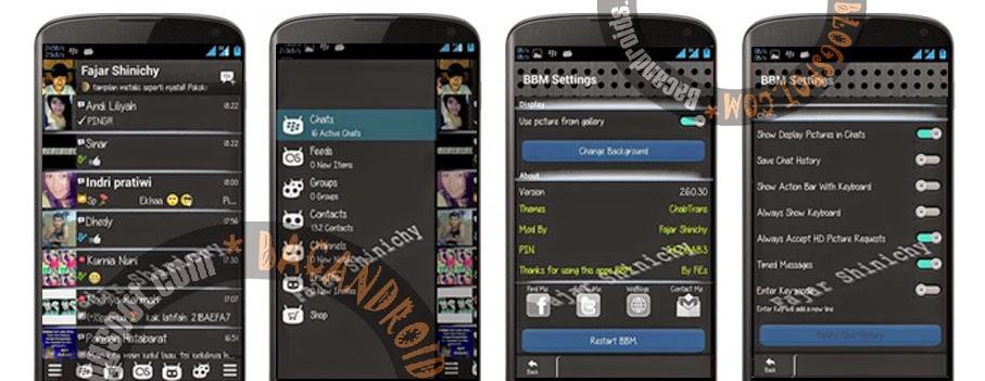 Download apk BBM2 MOD ChabTrans Versi Klone 2.6.0.30