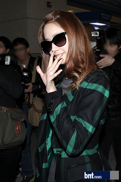 SNSD Airport Fashion - Yoona
