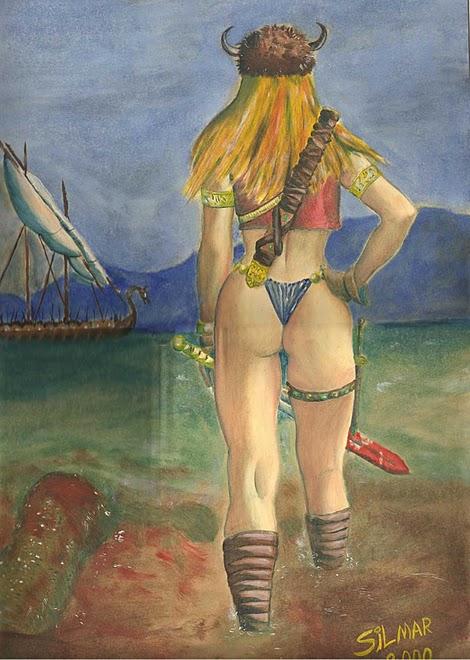 guerreira nórdica