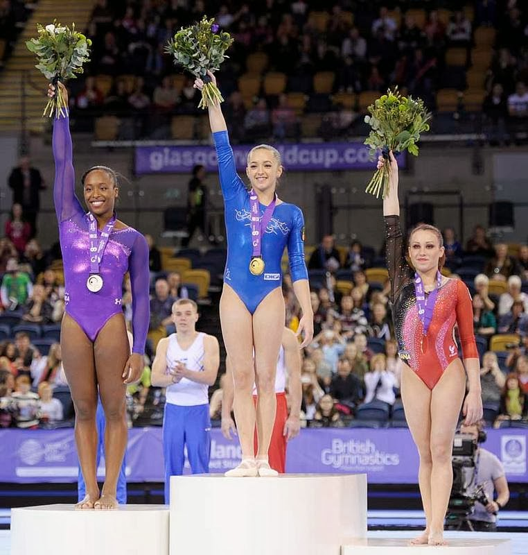 633 Credit Score >> I FLIP for Gymnastics: Larisa Iordache wins the 2013 Glasgow World Cup!