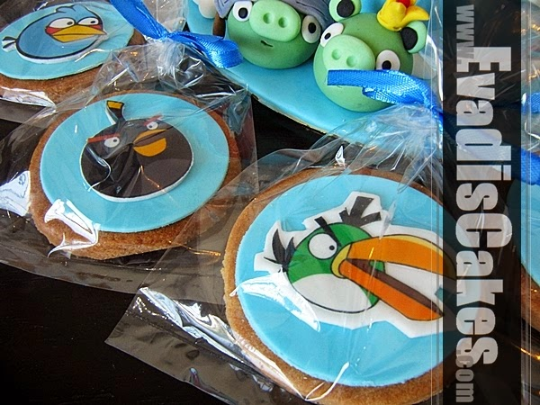 Cookies for Angry Bird