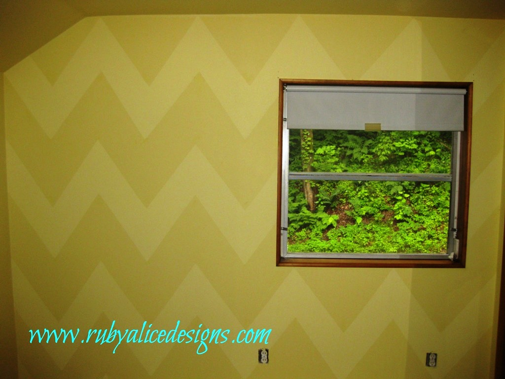 Chevron Walls @ Ruby Alice Designs