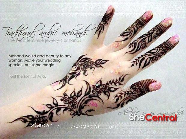 Modern Mehndi Designs 2013  Henna Art  Arabic Mehndi