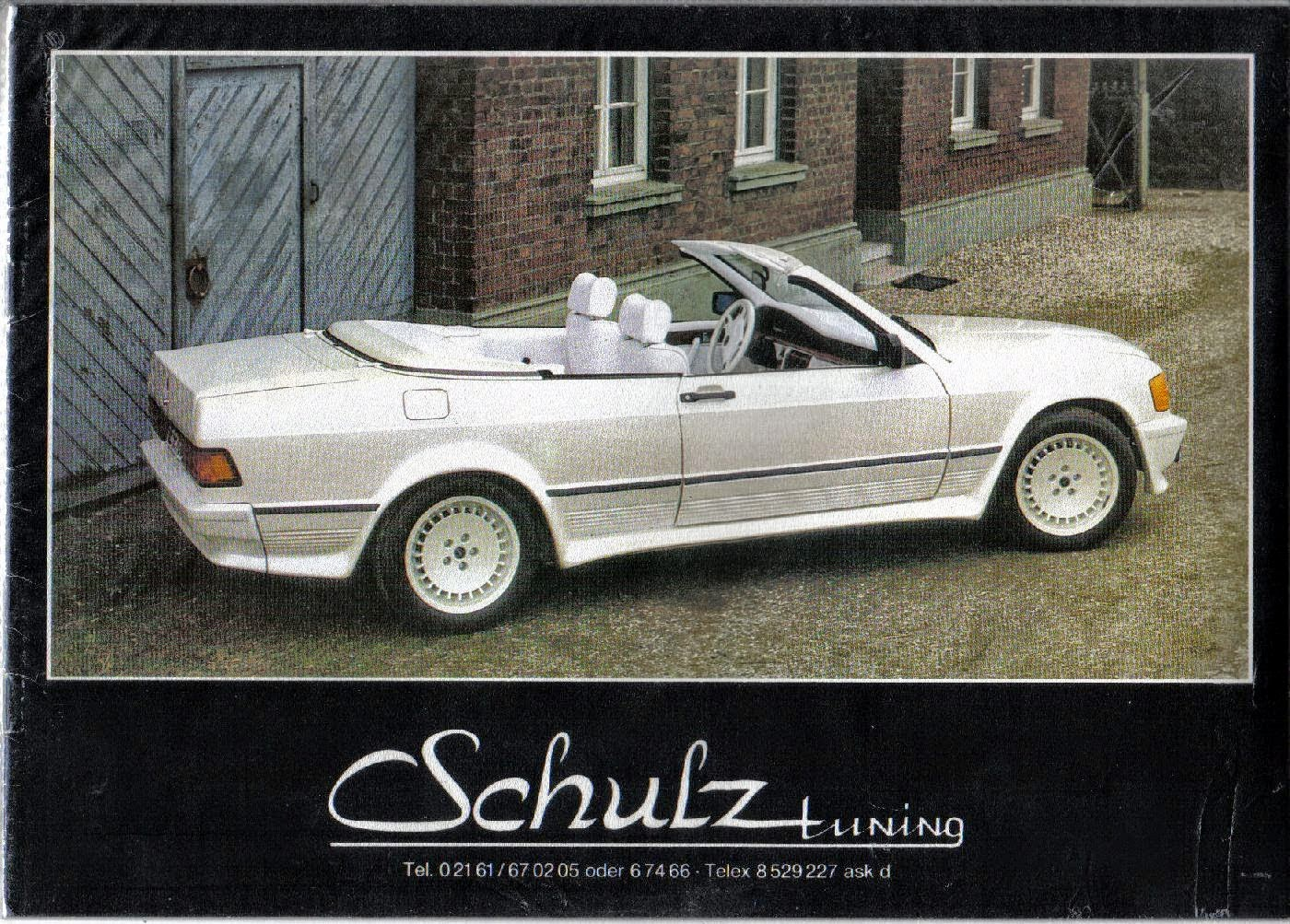 mercedes 190e cabriolet schulz tuning benztuning. Black Bedroom Furniture Sets. Home Design Ideas