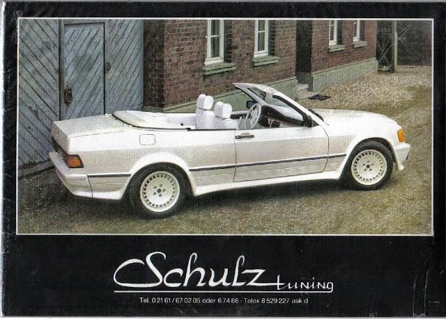 mercedes-benz w201 190e czbrio schulz tuning