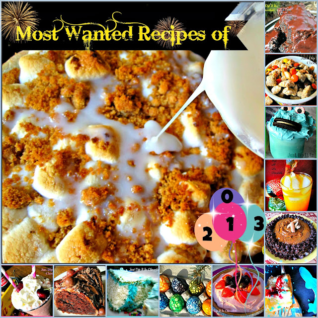 13 Most Wanted Recipes of 2013, Enjoy in just one post a variety or recipes, from #appetizers #maindishes #sides and #desserts of 2013 featured on the blog #bestrecipes