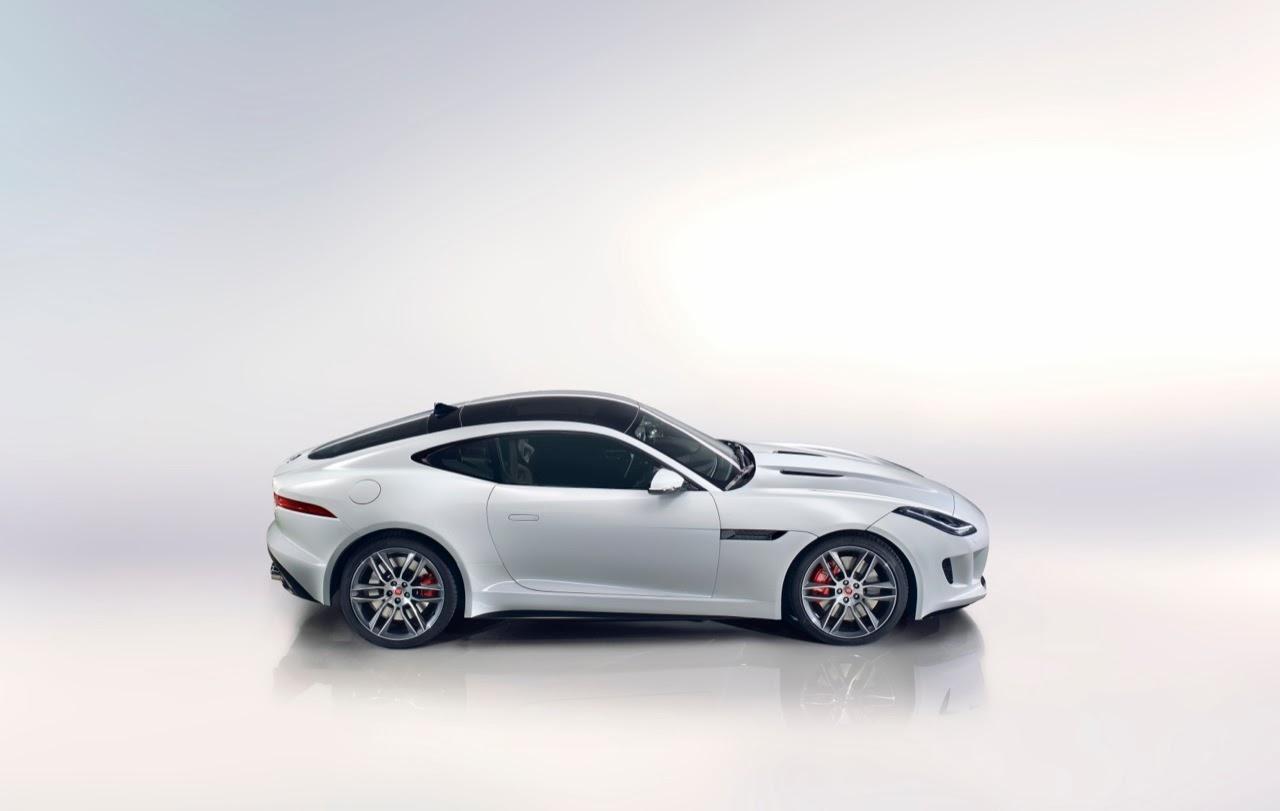 Foto Mobil Jaguar F-Type R Coupe 2015 Putih