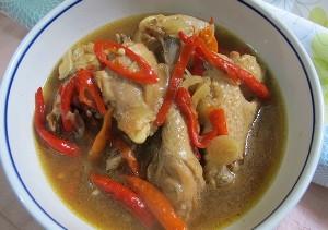 Resep Ayam: Ayam Asam Pedas