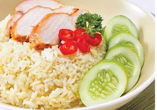 Cara membuat nasi hainam ayam