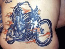 Motif Tato Biker 8