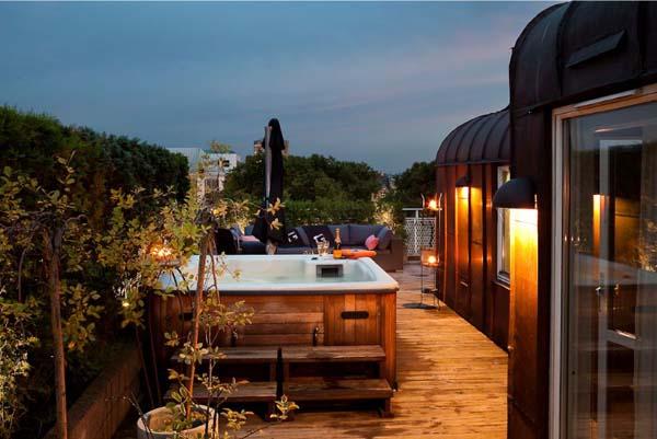 Hogares frescos casa sueca con terraza en la azotea for La casa de la azotea
