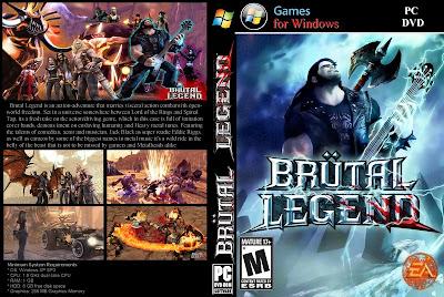 Brutal Legend PC DVD Capa