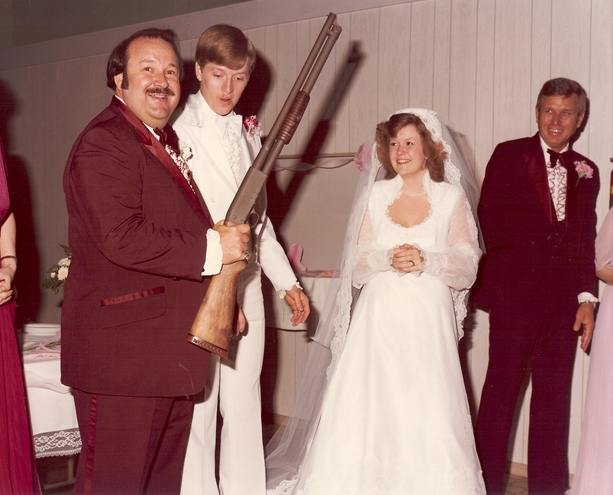 Dad I Know This Is A Shot Gun Wedding But You Agreed To Hide The Before Photographer Came Over